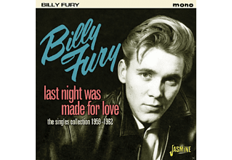 Billy Fury - Last Night Was Made For [CD]