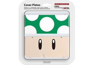 NINTENDO New 3DS Cover Plate - Green Mushroom