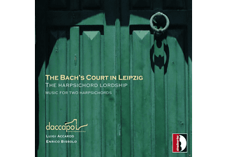 Accardo,L./Bissolo,E. - The Bach's Court In Leipzig - Werke Für 2 Cembali - (CD)