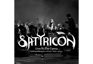 Satyricon - Live at the Opera (Limited Edition) (Digipak) (CD + DVD)