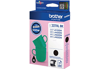 BROTHER Original Tintenpatrone Schwarz (LC-127XLBK)