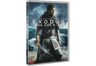 Exodus Gods and Kings Äventyr DVD