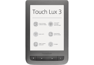 POCKETBOOK Touch Lux 3 Donker Grijs