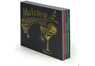 Molotow Brass Orkestar - 3-Cd Deluxe Box (Asoguet, Schaubeschad, Selftitled) [CD]