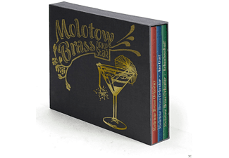 Molotow Brass Orkestar - 3-Cd Deluxe Box (Asoguet, Schaubeschad, Selftitled) - (CD)