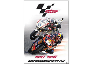 Moto GP Moto 2 Moto 3 World Championship Review 2013 [DVD]
