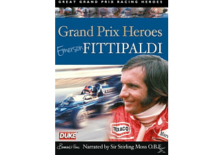 Grand Prix Heroes - Emerson Fittipaldi - (DVD)