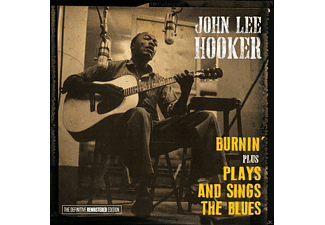 John Lee Hooker - Burnin'+Plays And Sings The Blues [CD]