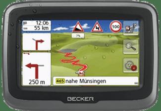 BECKER 1502210000 MAMBA.4 LMU PLUS, PKW, Motorrad Navigationsgerät, 4.3 Zoll, Kartenmaterial Europa, 47 Länder, Micro-SD Slot