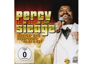 Percy Sledge - Discover Motown Superstars On Cd & Dvd - (CD + DVD)