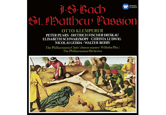 Nicolai Gedda, Christa Ludwig, Walter Berry, Philharmonia Choir, Pears Peter - Matthäus Passion (Ga) - (CD)