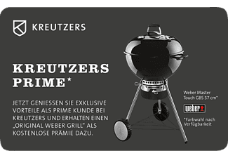 kreutzers fleisch und genuss prime card original weber mastertouch gbs 57 grill kohlegrill. Black Bedroom Furniture Sets. Home Design Ideas
