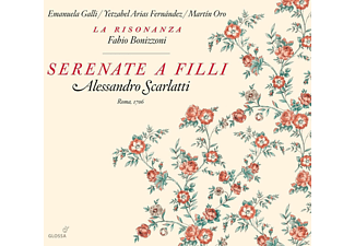 Galli, Fernandez, Bonizzoni, La Risonanza, O.R.O. - Serenate A Filli - (CD)