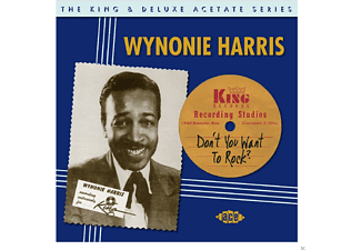Wynonie Harris - Don't You Want To Rock-The King & Deluxe Acetate [CD]