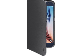 ARTWIZZ SeeJacket® Folio, Samsung, Backcover, Galaxy S6, Polyurethan, Schwarz