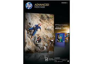 HP Advanced fotopapper A4 250g 50 st