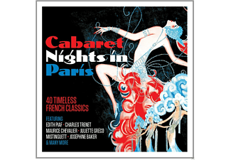 VARIOUS - Cabaret Nights In Paris [CD]