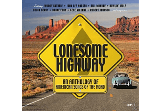 VARIOUS - Lonesome Highway - (CD)