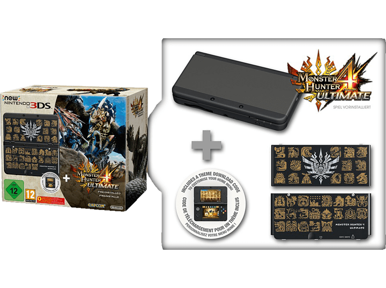 NINTENDO-New-Nintendo-3DS-Monster-Hunter