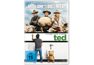 A Million Ways to Die in the West & Ted - (DVD)