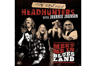 Johnnie Johnson, The Kentucky Headhunters - Meet Me In Bluesland [CD]