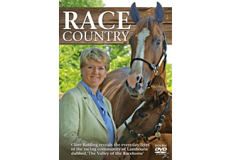 Race Country With Clare Balding - (DVD)