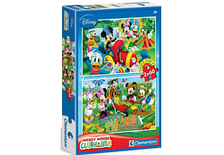 PUZZLE MICKEY MOUSE 2X60 CLEMENTONI - (07106)
