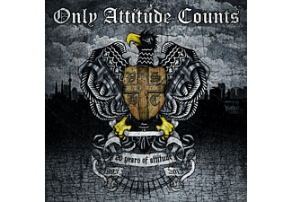 Only Attitude Counts - 20 Years Of Attitude (2cd Digipack) - (CD)