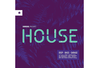 VARIOUS - Subsoul Presents: House (Cd+Mp3) - (CD + Download)