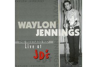 Waylon Jennings - The Restless Kid, Live At Jd's [CD]