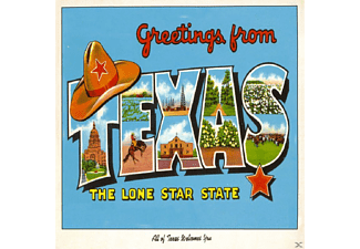 VARIOUS - Greetings From Texas - (CD)
