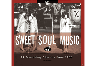 VARIOUS - Sweet Soul Music-29 Scorching Classics From 1966 - (CD)