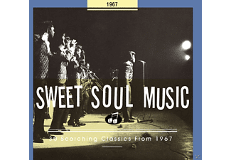 VARIOUS - Sweet Soul Music-30 Scorching Classics From 1967 - (CD)