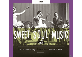 VARIOUS - Sweet Soul Music-28 Scorching Classics From 1969 - (CD)
