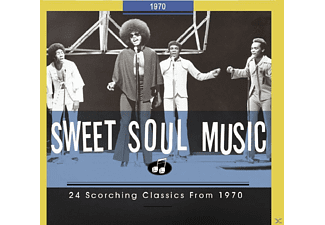 VARIOUS - Sweet Soul Music-24 Scorching Classics From 1970 [CD]