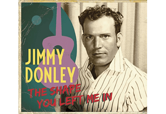 Jimmy Donley - The Shape You Left Me In - (CD)