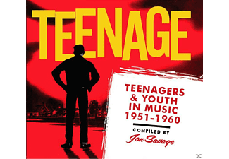 VARIOUS - Teenagers & Youth In Music 1951-1960 - (CD)