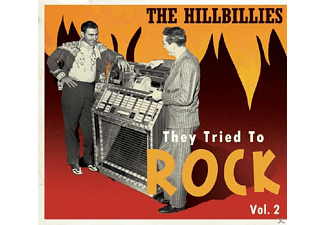 VARIOUS - The Hillbillies - They Tried To Rock Vol.2 - (CD)