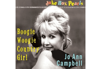 Jo-ann Campbell - Boogie Woogie Country Girl-Jukebox Pearls - (CD)