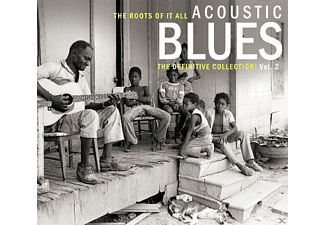VARIOUS - Acoustic Blues Vol.2 (2-Cd) - (CD)