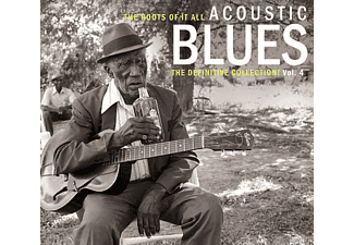 VARIOUS - Acoustic Blues Vol.4 (2-Cd) - (CD)