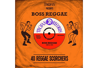 VARIOUS - Trojan Presents Boss Reggae [CD]