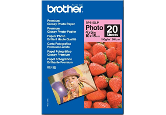 BROTHER 10X15 Glansigt Fotopapper 190G 20ARK