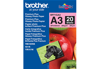 BROTHER A3 Glossy Paper 260 gram - 20-pack