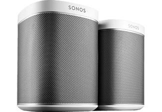 sonos play 1 2 room starter set smart speaker f r wireless music streaming kaufen saturn. Black Bedroom Furniture Sets. Home Design Ideas