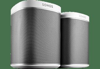 sonos play 1 2 room starter set smart speaker f r wireless music streaming kaufen saturn. Black Bedroom Furniture Sets. Home Design Ideas