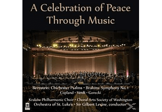Orchestra Of St.Luke's, Sir Gilbert Levine - A Celebration Of Peace Through Music - (CD)