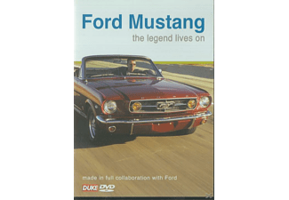 Ford Mustang the Legend Lives on - (DVD)