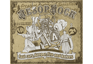 Aesop Rock - Fast Cars Danger Fire & Knives - (CD)