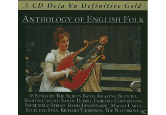 VARIOUS - Anthology Of English Folk - (CD)